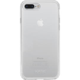 Case Coque en silicone hybride invisible pour Apple iPhone 7 Plus/8 Plus, Transparent