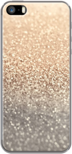 Case GATSBY GOLD GLITTER by Monika Strigel