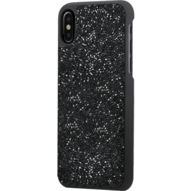 Rhinestone Bling Case for Apple iPhone X/XS, Midnight Black