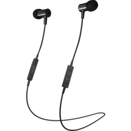Magnetic Noise-isolating Wireless In-ear Headphone, Satin Black