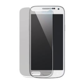 Premium Tempered Glass Screen Protector for Samsung Galaxy S4 mini, Transparent