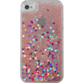 Case Bling Bling Glitter Case for Apple iPhone 4/4s, Pink Lady
