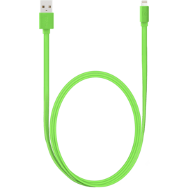 Apple MFi certified Lightning Charge/Sync Cable (1M), Flashy Green