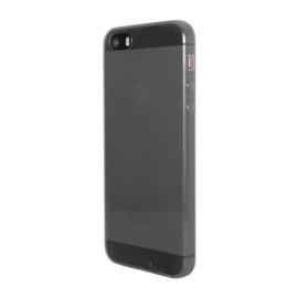 Coque pour Apple iPhone 5/5s/SE, Ultra Slim 0,6mm Transparent Noir