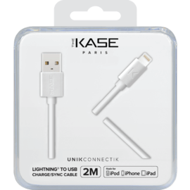 Apple MFi certified Lightning Charge/Sync Cable (2M), Bright White