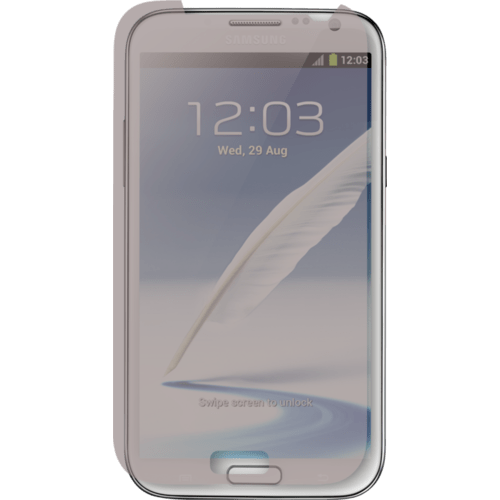 Case Screen protector for Samsung Galaxy Note II, Matte