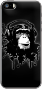 Case Monkey Business - Black by NG Design
