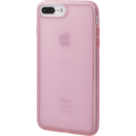 Coque slim pailletée étincelante (Edition contour) pour Apple iPhone 7 Plus/8 Plus, Or Rose