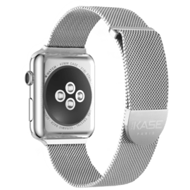 Stainless Steel Mesh Strap for Apple Watch® Series 1/2/3/4 42/44mm, Silver