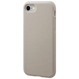 Anti-Shock Soft Gel Silicone Case for Apple iPhone 7/8, Pebble Grey
