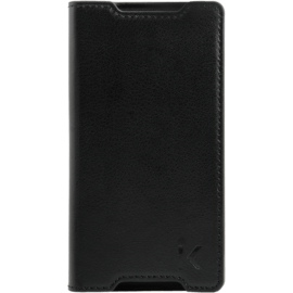 Case Book-type Slim flip case with stand for Sony Xperia Z5 Compact, Black