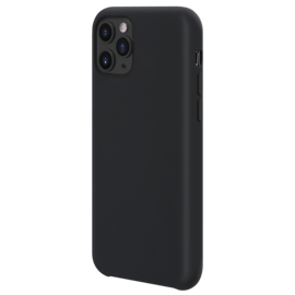 Soft Gel Silicone Case for Apple iPhone 11 Pro, Satin Black