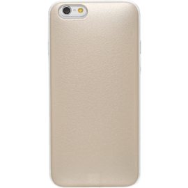 Playcase Slider with credit card slot for Apple iPhone 6/6s, Sparkling Gold