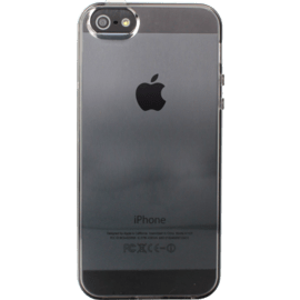 Case for Apple iPhone 5/5s/SE, Grey silicone