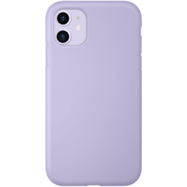 Anti-Shock Soft Gel Silicone Case for Apple iPhone 11, Lilac Purple