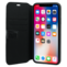 BMW Hexagon Signature Flip case for Apple iPhone X/XS, Black