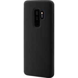 Soft Gel Silicone Case for Samsung Galaxy S9+, Satin Black